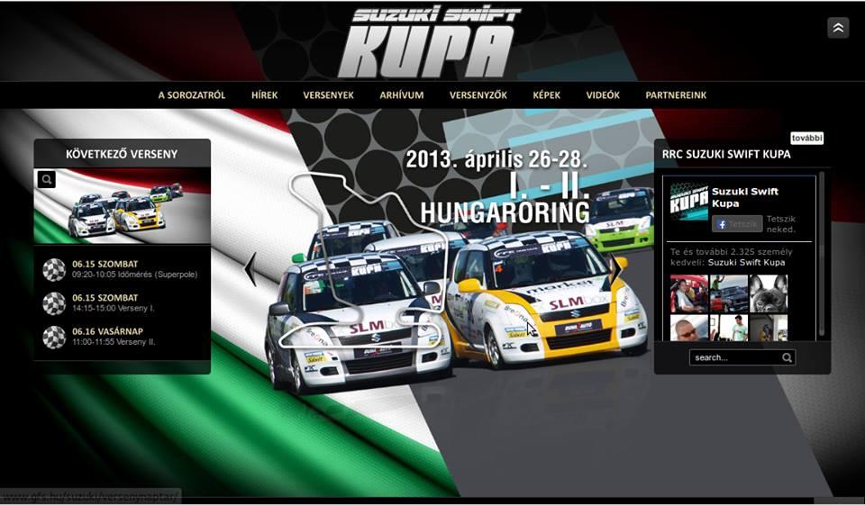 RRC Suzuki Swift Kupa 2013